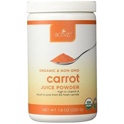 Activz - Organic Carrot Juice Powder - 7.8 oz.