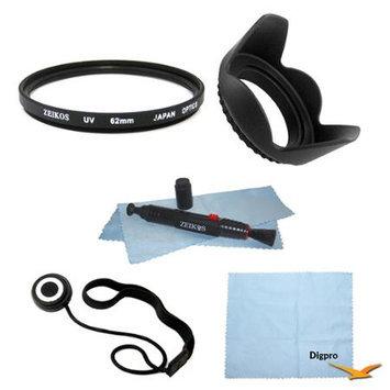Special Essential 62mm UV Filter Accessory Bundle
