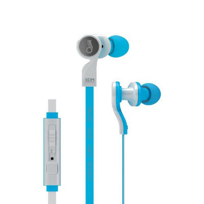 MEElectronics EDM Universe In Ear Headphones with Universal Volume Control (Blue)