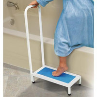 Jobar International Inc Bath And Shower Step Stool With Handle