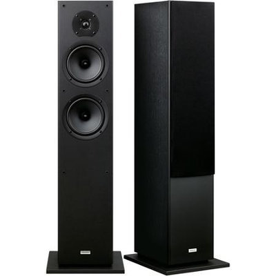 Onkyo SKF-4800 2-Way Bass Reflex Floor Standing Front Speaker - Black - Each