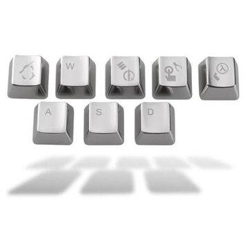 Agptek For CS Counter-Strike Metal mechanical keyboard Key Cap Keyset Zinc 8 Cherry MX Keycaps