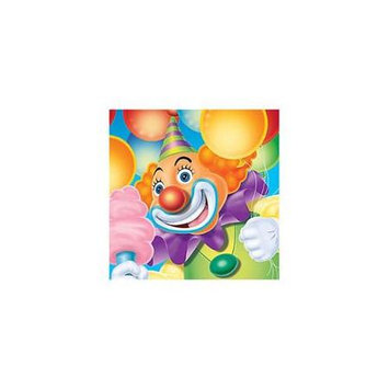 Birthday In A Box Creative Converting Big Top Birthday Beverage Napkins - 16 ct
