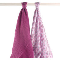 Yoga Sprout First Zigzag 2-Pack Swaddle Blankets