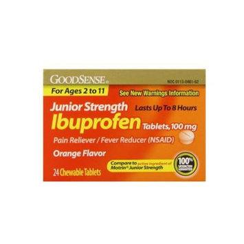 Good Sense Jr Strength Ibuprofen Chewable Tablets 24 Count