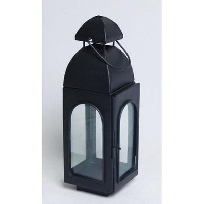 Kindwer Metal Lantern, 11 H x 4 W x 3 D