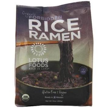 Lotus Foods Organic Rice Ramen Noodles Forbidden 10 oz - Vegan