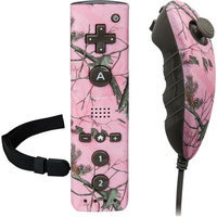 PowerA 617885004803 Pro Mini Controller for Wii, Wii U - Camo Pink