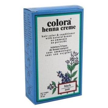 Colora - Henna Creme Hair Color & Conditioner Black - 2 oz.