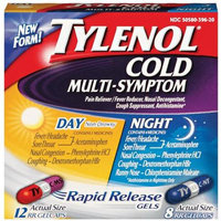 Tylenol® Day and Night Rapid Release Gels
