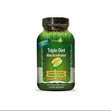 Irwin Naturals Triple-Diet Max Accelerator 72 Liquid Softgels