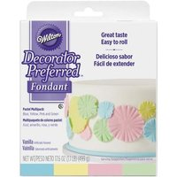 Wilton Decorator Preferred Fondant - Pastel Color 4-Pack