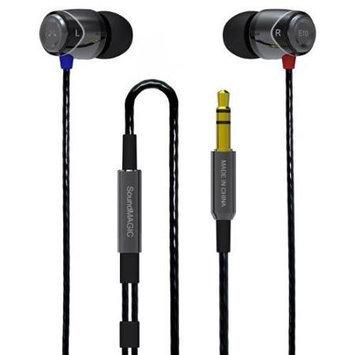 SoundMAGIC E10 - Noise Isolating In-Ear Earphones (Black/Gunmetal)