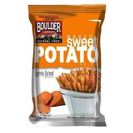 Boulder Canyon Baked Sweet Potato Fries Lightly Salted 7.5 oz