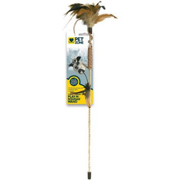 Our Pets Tiger Teaser Wand Cat Toy Assorted Styles