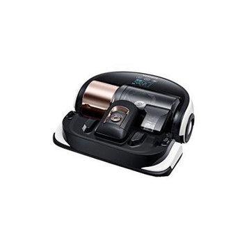 Samsung - Powerbot Robotic Vacuum Cleaner - Black/white
