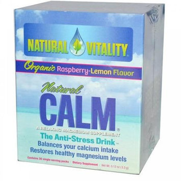 Natural Vitality Calm Counter Display Assorted Flavors Case of 8 5 Packs