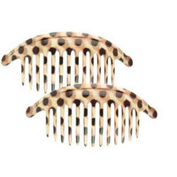 Camila Paris CP1248-2 6.5 In. Decoration & Colors Hair Combs - Pack Of 4