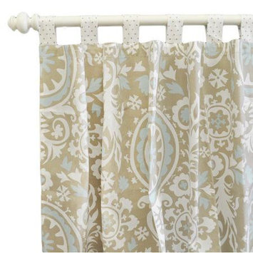 New Arrivals Picket Fence Curtain Panels