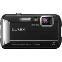 Panasonic Lumix DMC-TS25 16.1MP Black Digital Camera