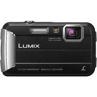 Panasonic Lumix DMC-TS25 16.1MP Black Digital Camera