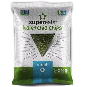 Supereats Kale & Chia Chips Ranch 5 oz