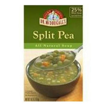Dr. McDougall's Organic Soup Gluten Free Split Pea 17.6 oz