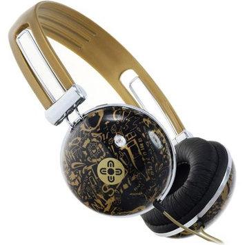 Addnice Moki Dome Headphones - Gold