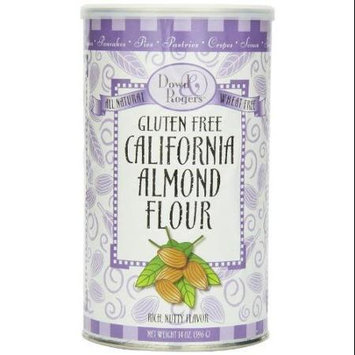 Dowd & Rogers Gluten Free California Almond Flour Dowd And Rogers 14 oz Container
