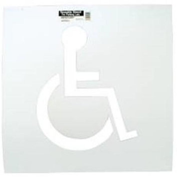 Hy-ko Products Company Hy-Ko Products 801105 Handicap Parking Stencil -Pack of 2