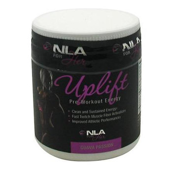 NLA for Her - Uplift Pre-Workout Energy Guava Passion - 210 Grams
