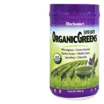 Bluebonnet Nutrition - Super Earth OrganicGreens - 14.8 oz.