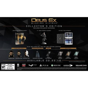 U & I Entertainment Deus Ex: Mankind Divided - Collector's Edition - Xbox One
