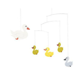 Flensted Mobiles Nursery Mobiles, Ugly Duckling