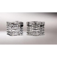 Majestic Gifts C563 Assorted 2 in. Crystal Tealight