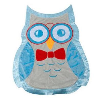 Scene Weaver 82090 Oliver Owl Baby Blanket Blue