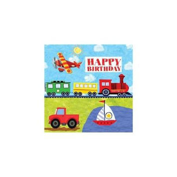 Creative Converting On The Go Happy Birthday Lunch Napkins