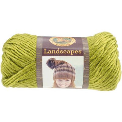Landscapes Yarn-Chartreuse 393968 Lion Brand