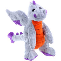 Go Dog Dragons Toy Color: Grey, Size: Large (9