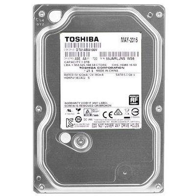 Toshiba DT01ABA100V 1 Terabyte (1TB) SATA/300 3.0GB/s 5700RPM 32MB Hard Drive