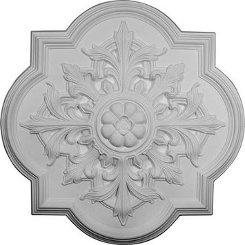 Ekena Millwork Bonetti 31.25-in x 31.25-in Polyurethane Ceiling Medallion CM34BO
