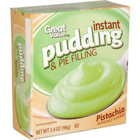 Great Value: Pistachio Instant Pudding & Pie Filling, 3.4 Oz