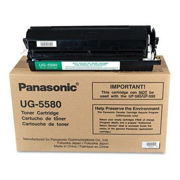 Panasonic Toner Cartridge - Laser - 9000 Page - Black UG5580