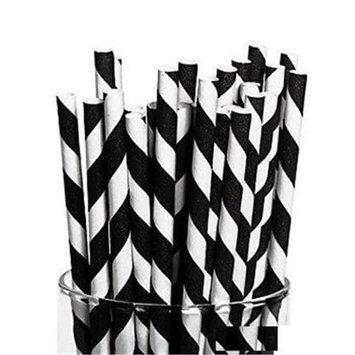 Fun Express Striped Paper Straws