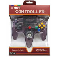 Hyperkin Cirka N64 Controller Yellow Atomic Purple - Retail