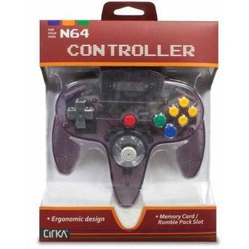 Hyperkin Cirka N64 Controller Yellow Atomic Purple - Retail
