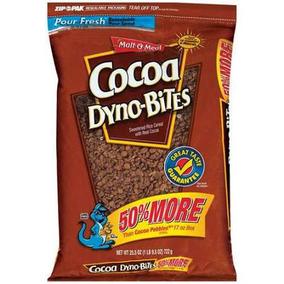 Malt-O-Meal: Cereal Dyno-Bites Cocoa, 25.5 Oz