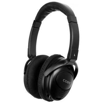 Coby Electronics Noise Canceling Stereo Headphones CV195