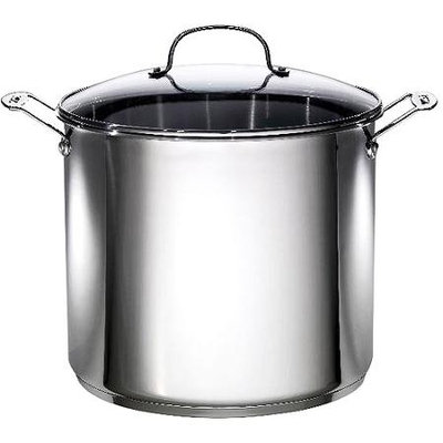 16 Quart Stainless Steel Stock Pot 06182 by Bradshaw