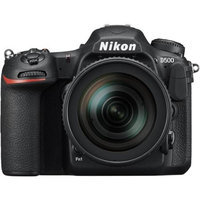 Nikon - D500 Dslr Camera With 16-80mm Lens - Black